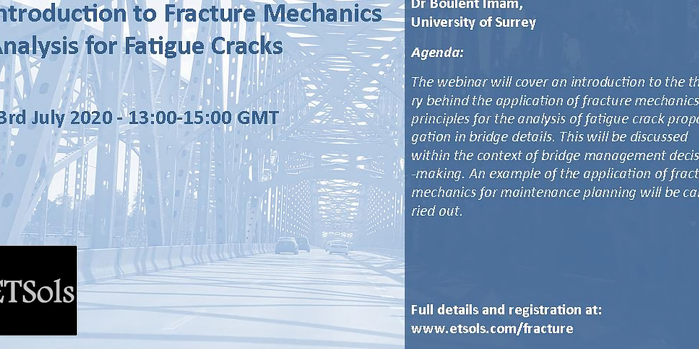 Introduction to fracture mechanics analysis for fatigue cracks