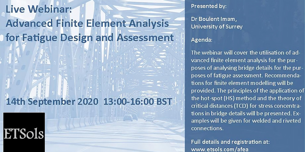 Advanced Finite Element Analysis for Fatigue Design and Assessment