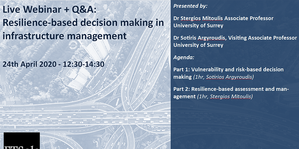 Resilience-based decision making in infrastructure management