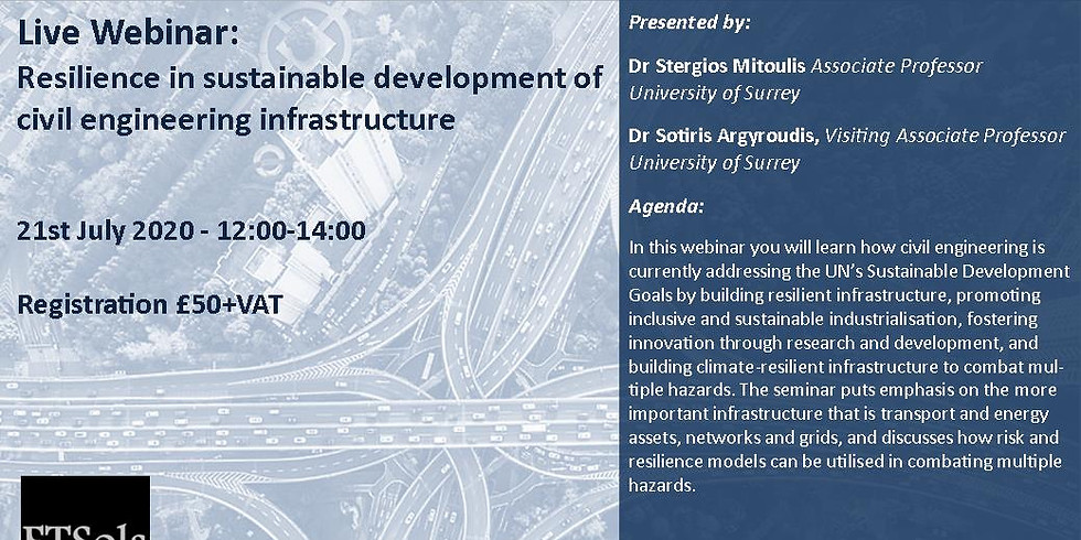 Resilience in sustainable development of civil engineering infrastructure