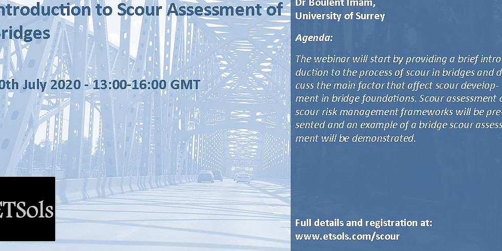 Introduction to scour assessment of bridges