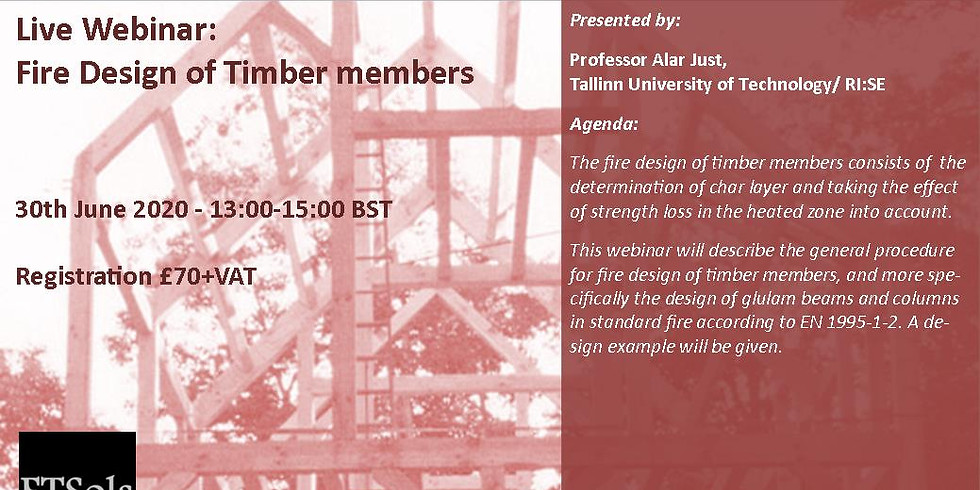 Fire Design of Timber members