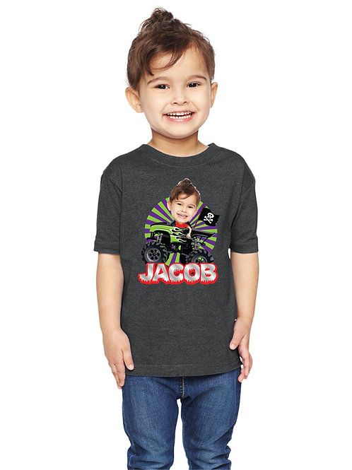 Monster Truck Birthday Shirt