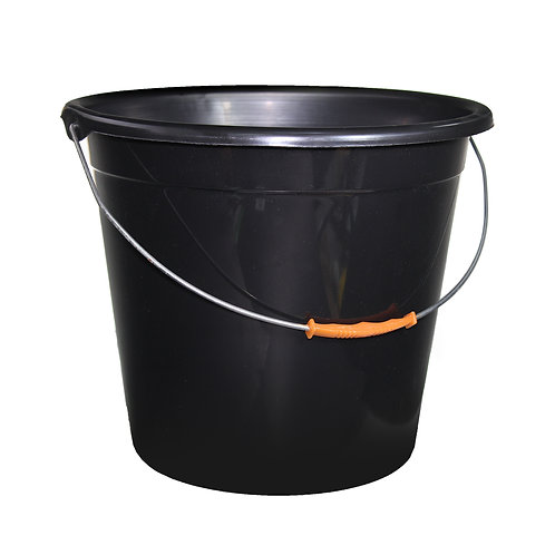 Plastic Bucket (Black)