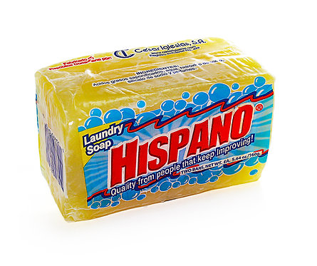 Laundry Soap Hispano (Box of 25)