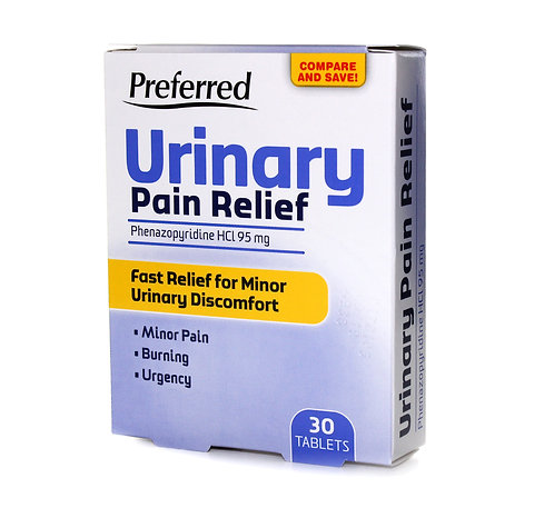 Reese's Preferred Urinary Pain Relief