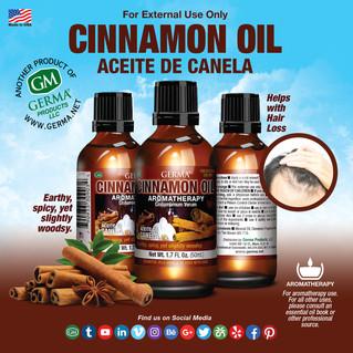 Cinnamon Oil - 2oz