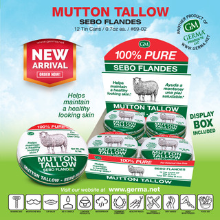 Germa® Mutton Tallow (Sebo Flandes) - 0.7oz