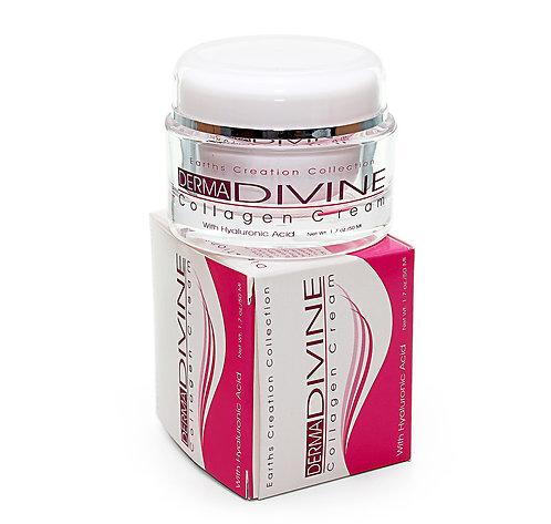 Derma Divine® Collagen Cream w/Hyaluronic Acid
