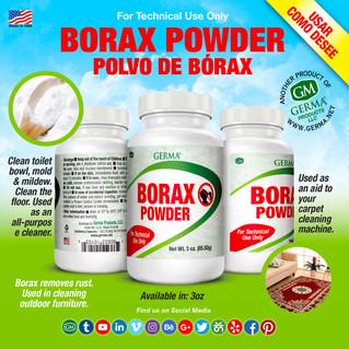 Borax Powder - 3oz