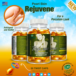 Germa® Rejuvene - 60 Twist Caps