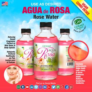 Agua de Rosa - 4oz