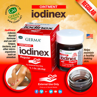 Germa® Iodinex (Red) - 1oz
