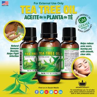 Germa® Tea Tree Oil - 1oz