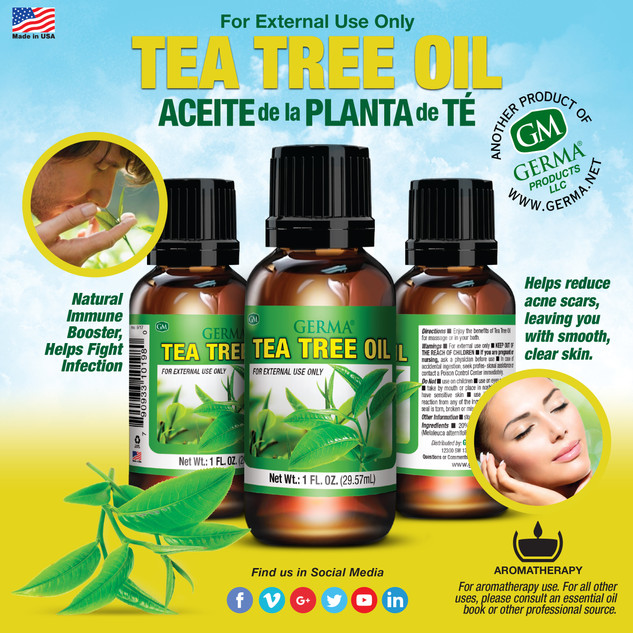 Germa® Tea Tree Oil - 1oz