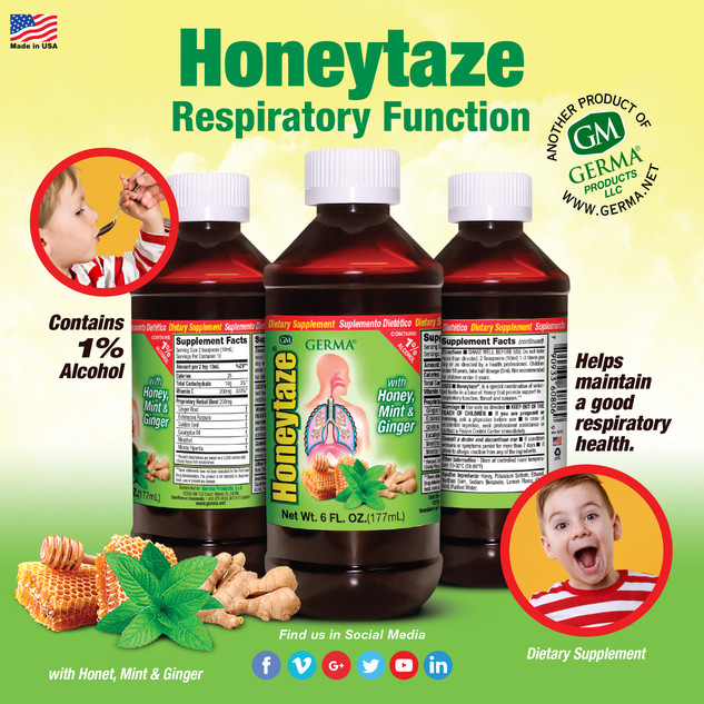 Germa® Honeytaze - 6oz