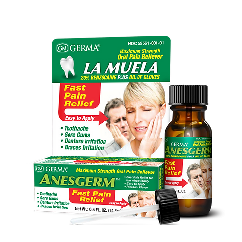 Germa® Anesgerm® Oral Pain Reliver