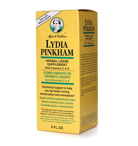 Lydia Pinkham Herbal Liquid Supplement