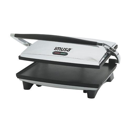 IMUSA® Large Electric Panini Press, Silver