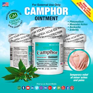 Camphor Ointment - 2oz