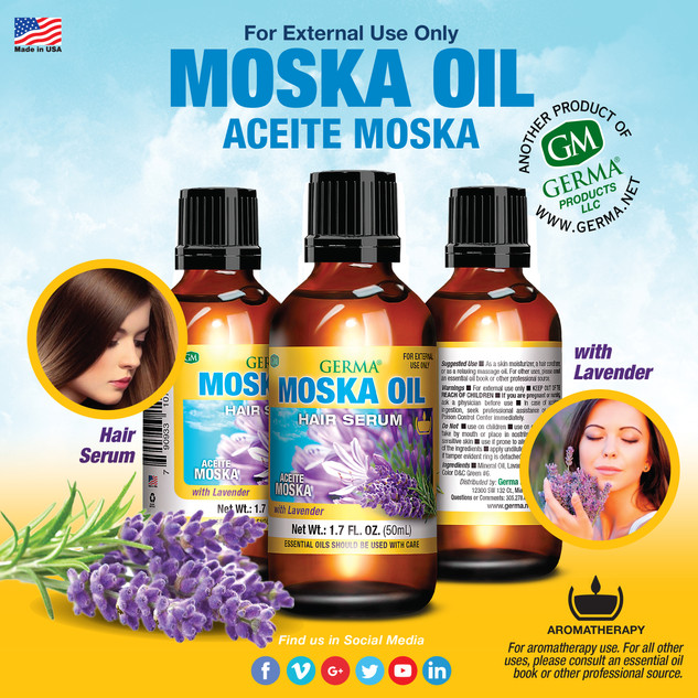 Germa® Moska Oil with Lavender - 1.7