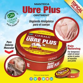 Germa® Manteca Ubre Plus (Tin can) - 3oz