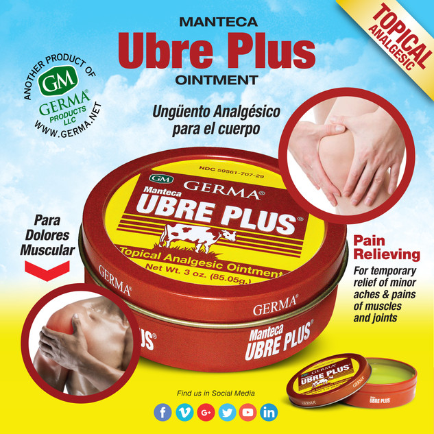 Germa® Manteca Ubre Plus (Tin can) - 3oz