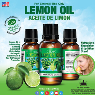 Germa® Lemon Oil - 1oz