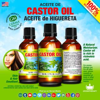 Castor Oil - 2oz