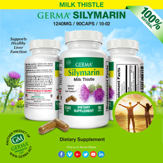 Germa® Silymarin (Milk Thistle) - 90 Caps