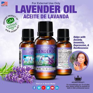 Lavender Oil (Lavanda) - 1oz