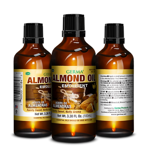 Germa® Almond Oil - 1.7oz and 3.38oz