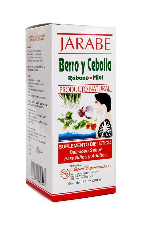 Alopecil® Jarabe Berro y Cebolla