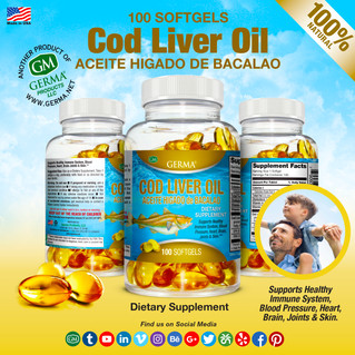 Cod Liver - 100 Softgels