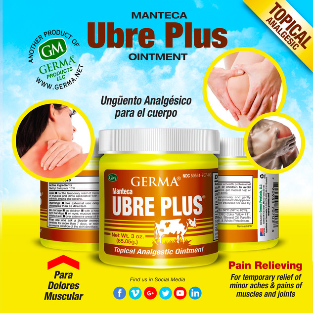 Germa® Manteca Ubre Plus (Yellow) - 3oz