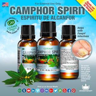 Camphor Spirit - 1oz