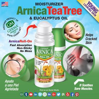 Arnica Tea Tree Roll-On - 2.5oz