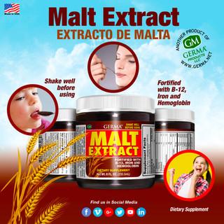 Germa® Malt Extract (Extracto de Malta) - 8oz