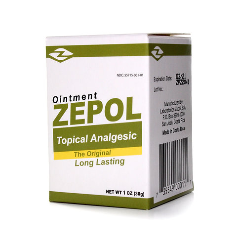Zepol® Analgesic Ointment