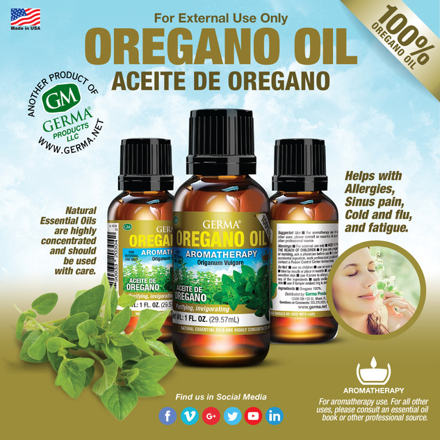 Germa® Oregano Oil - 1oz
