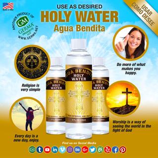 Agua Bendita - 8oz