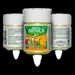Arnica 3-1 Front & back