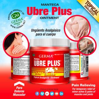 Germa® Manteca Ubre Plus (Red) - 3oz