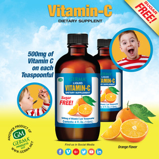 Germa® Vitamin C - 4oz
