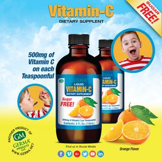 Germa® Vitamin C - 4oz