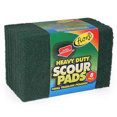 Heavy Duty Scouring Pads (8)