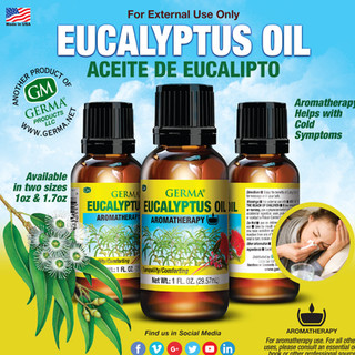 Germa® Eucalyptus Oil - 1oz & 1.7oz