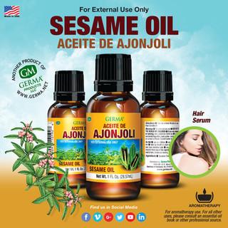 Germa® Sesame Oil (Ajonjoli) - 1oz