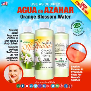 Agua de Azahar - 8oz