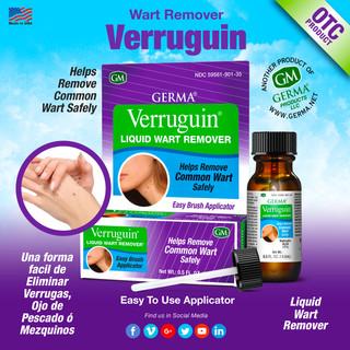 Germa® Verruguin Wart Remover - 0.5oz